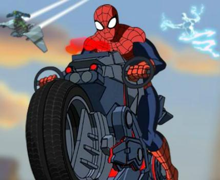 Play Spiderman Bike