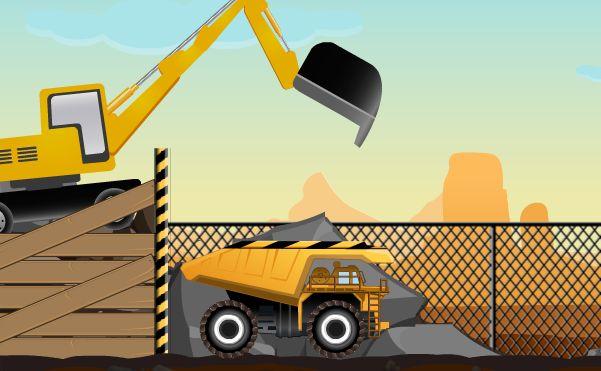 Play Mega Dump Truck