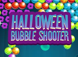 Play Halloween Bubble