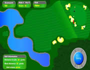 Flash Golf Game