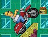 Play Homer Motorbike