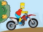 Play Simpson Bike