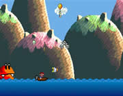 Play Super Mario Boat Bonanza