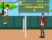 Play Ben10 Volleyball Game