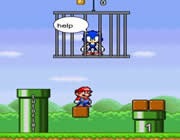 Play Super Mario Save Sonic